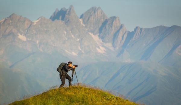 Ben Roif photographs the Caucasus Mountains