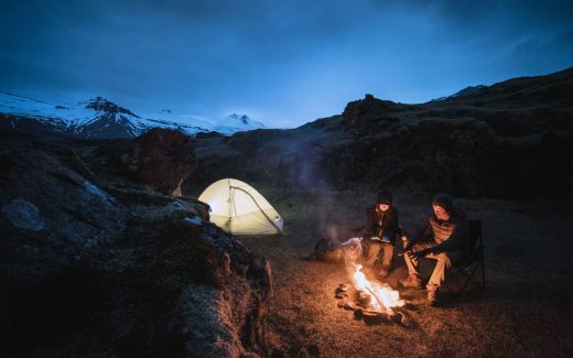 f9affe7334e Man and woman camping in Iceland