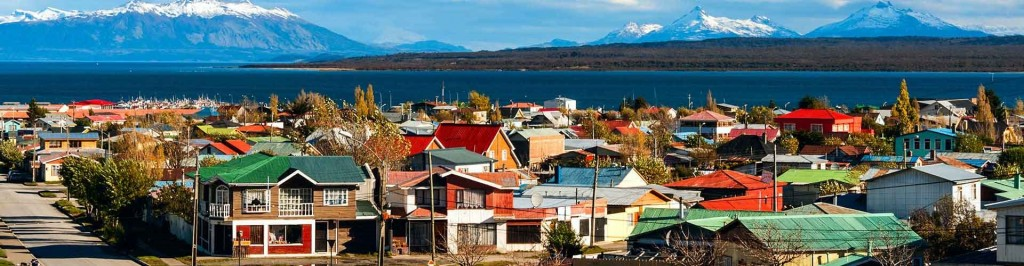 View of Puerto Natales, Chile