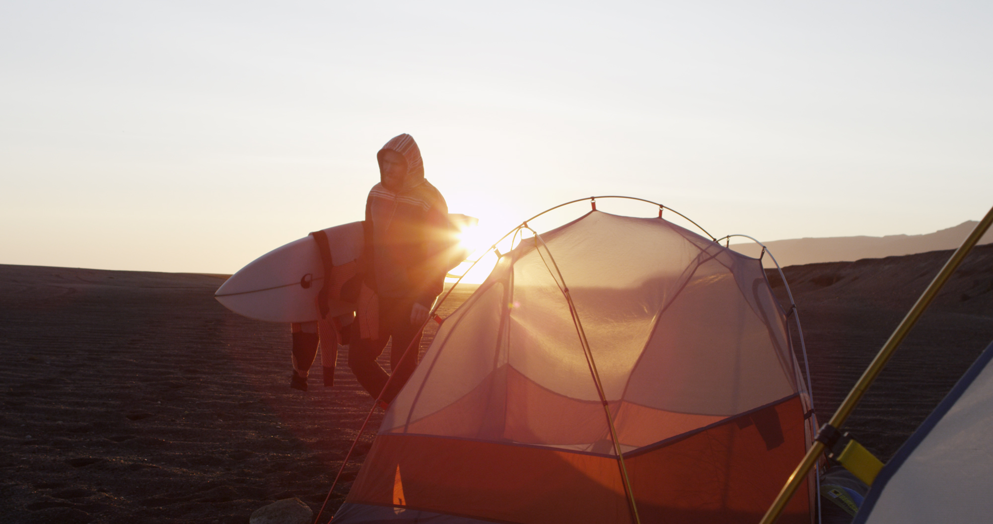 The Mountainsmith Mountain Dome tent in the film YOW: Icelandic for yes