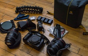 Tools for ultralite photography kit and Mountainsmith Kit Cube