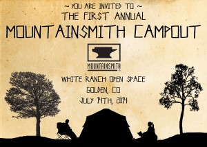 2014 Mountainsmith Campout Invitation
