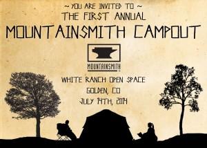 2014 Mountainsmith Campout Invitation