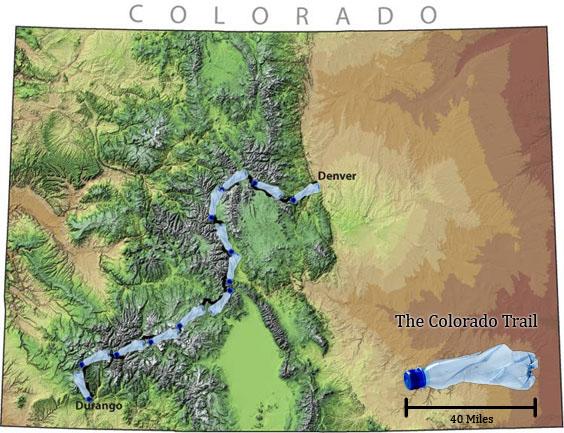 Mountainsmith, ReForge, recycled, PET, Denver, Durango, Colorado Trail