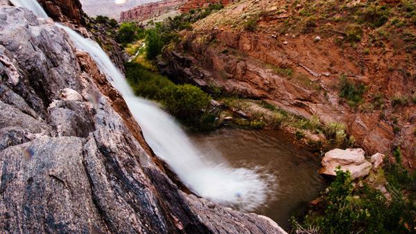 Hike to Dominguez Falls, Colorado waterfall