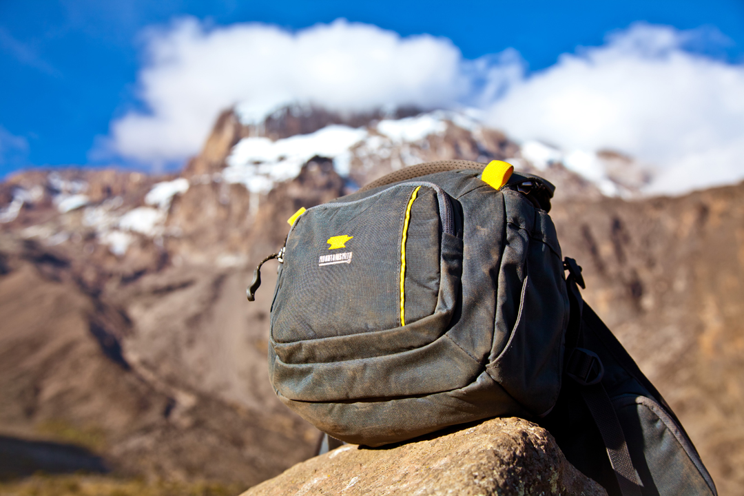 The Mountainsmith Swift FX on Mount Kilimanjaro in Tanzania