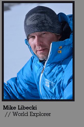 Mountiansmith Brand Ambassador Mike Libecki