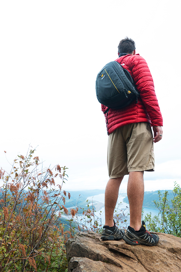 Gavin Garrison with the Mountainsmith Descent Camera pack