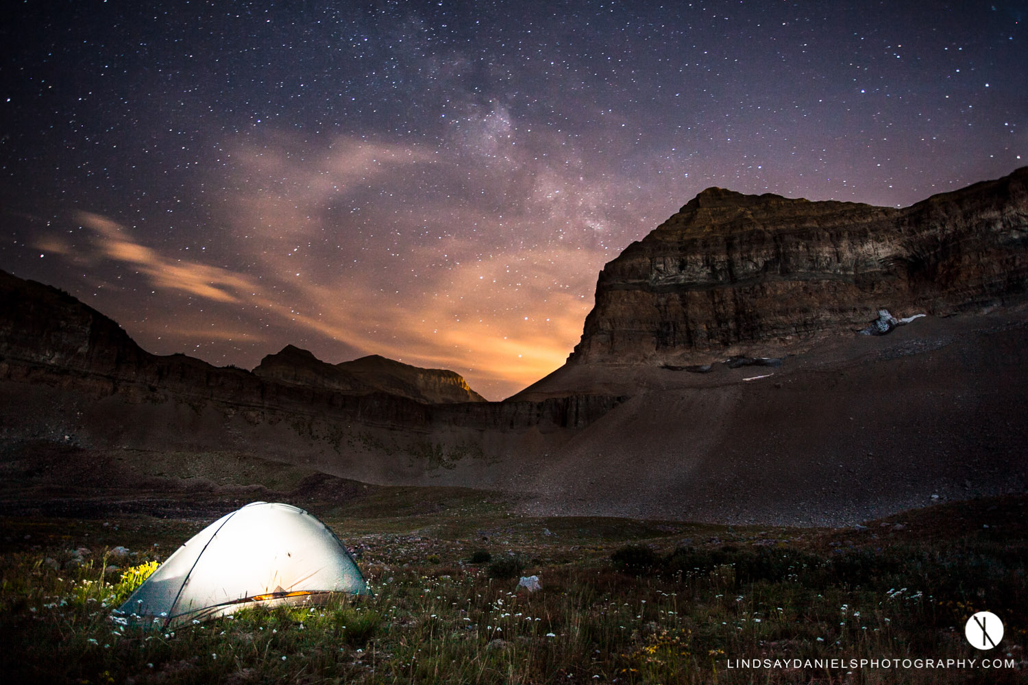 Mount Timpanogos Under the Stars, Lindsay Daniels Photography