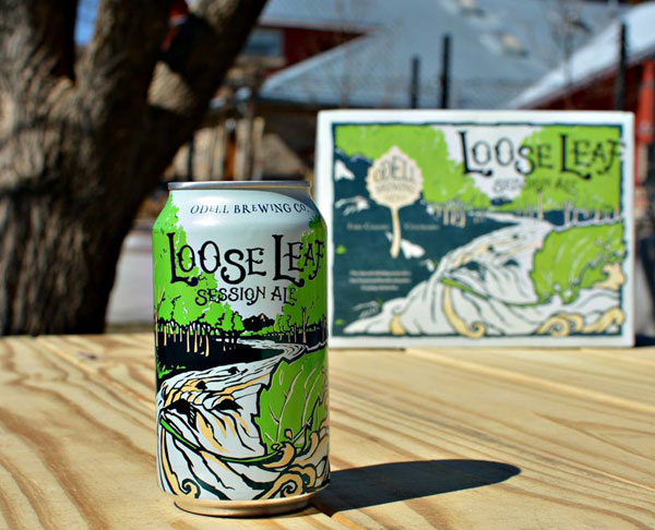 Odell Brewing Loose Leaf Session Ale