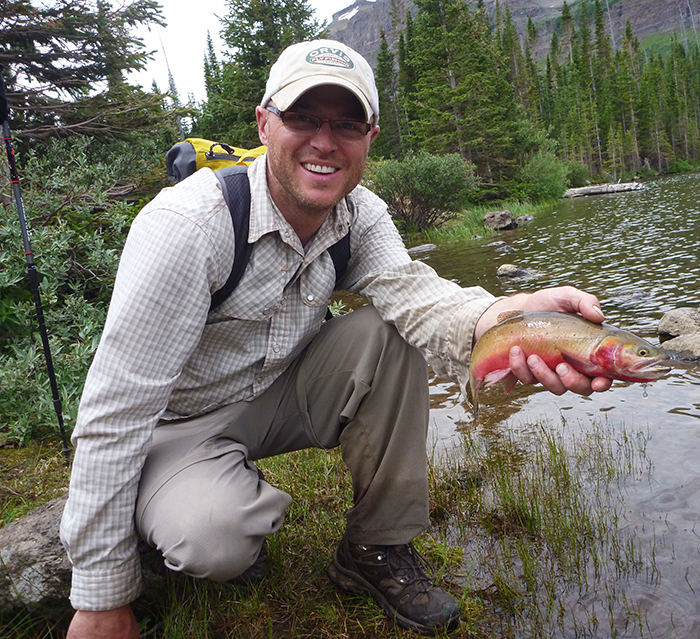 One of my many cutthroat trout
