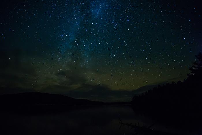Night Sky in Boundary Waters Canoe Area