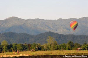 Hot Air Ballooning in remote Laos