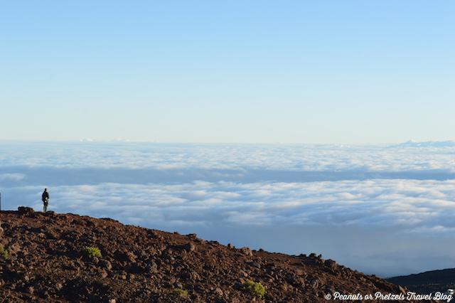 Standing on top of Haleakala