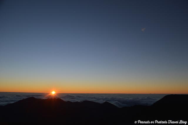 Sun Rays at Haleakala