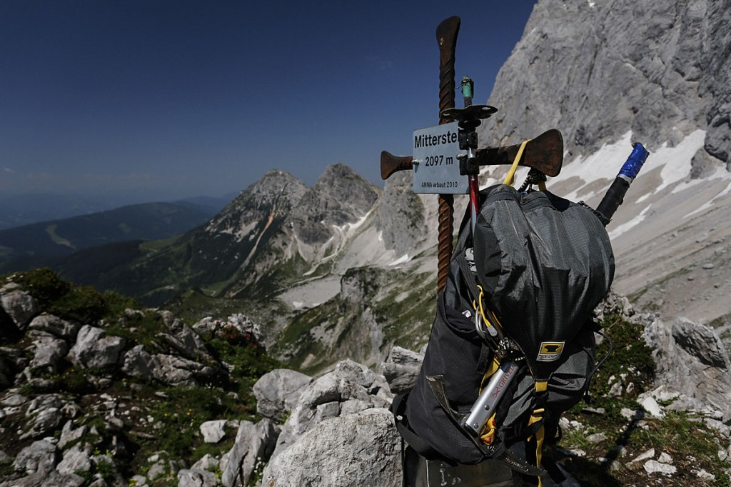 A Mountainsmith Scream 25 backpack at Mitterstein