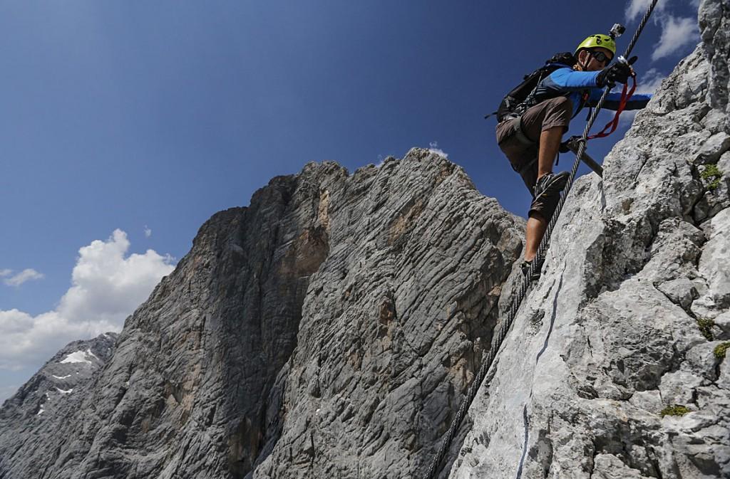 chris vultaggio climbing via ferrata