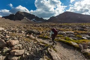 Hiking Long's Peak Colorado