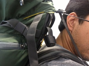 load lifter straps on a mountainsmith backpack