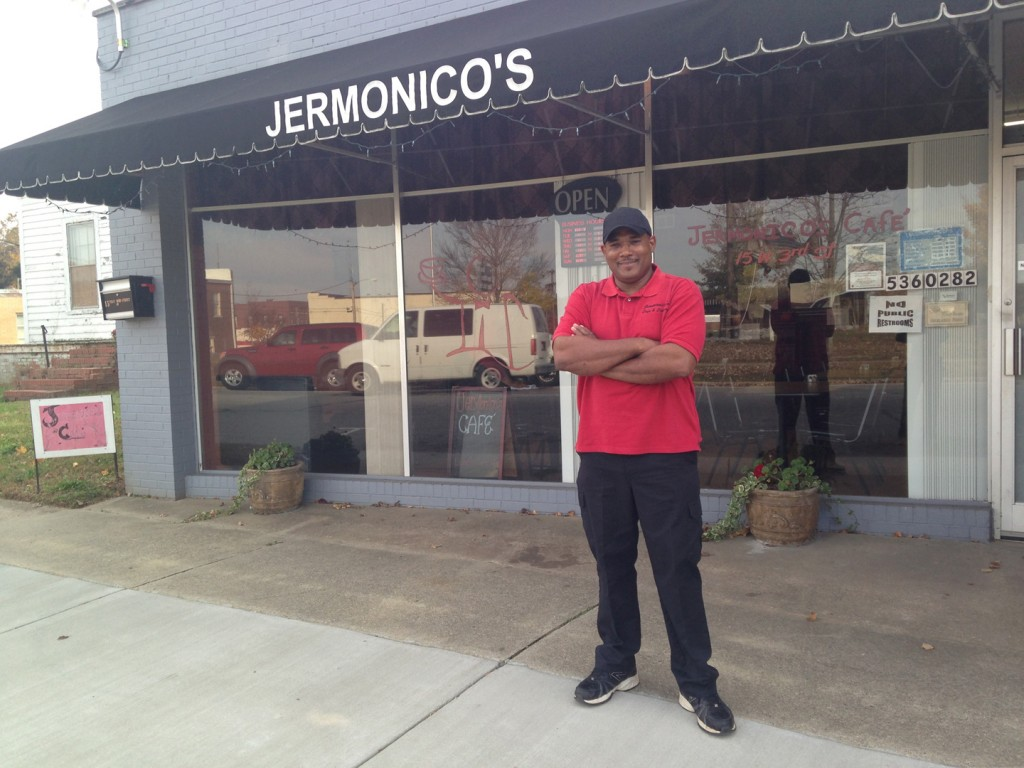 Jerry of Jermonico's in Weldon, NC