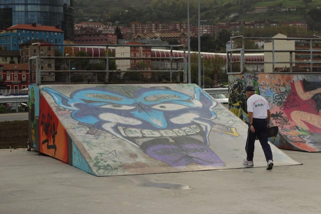 Deustro Skatepark Patrick Dodge photography skateboarding bilbao spain