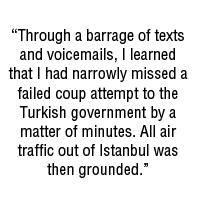 Quote from Dave Katz, mountainsmith ambassador, on traveling in Turkey