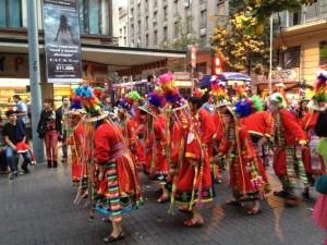 Santiago Street Parade