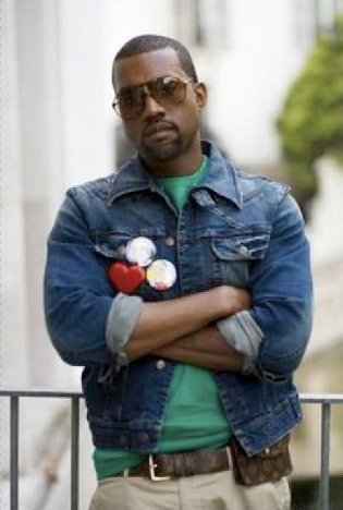 Kanye West Wears a Fanny Pack